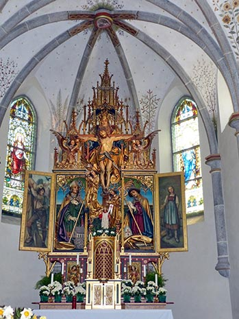 Vorschaubild - Kulturmeile Station: Chiesa di San Volfango