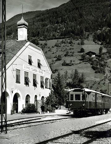 Vorschaubild - Kulturmeile Station: Die Tauferer Bahn (1908–1957)