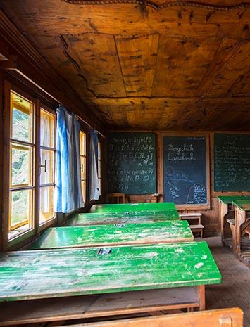 Vorschaubild - Kulturmeile Station: Scuola di montagna